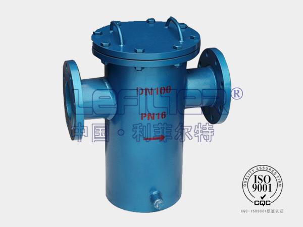 DN600碳钢蓝式过滤器(树